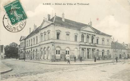 """CPA FRANCE 70 """"Lure, Hotel de ville et tribunal"""""""