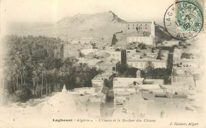 """CPA ALGERIE """"Laghouat, l'Oasis"""""""