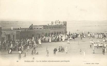 "CPA ALGERIE ""In Salah, le 14 juillet"""