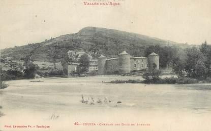 """CPA FRANCE 11 """"Couiza, Château des Ducs de Joyeuse""""."""