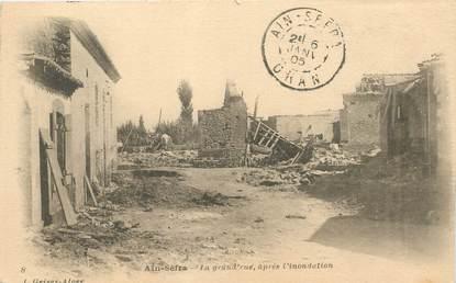 """CPA ALGERIE """"Aïn Sefra, la grand'rue"""""""