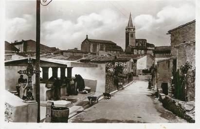 """CPSM FRANCE 11 """" Capendu, Entrée du village""""."""