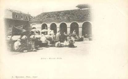 "CPA ALGERIE ""Batna, marché arabe"""