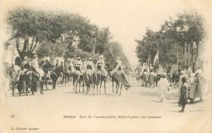 "CPA ALGERIE ""Batna, rue de Constantine"""