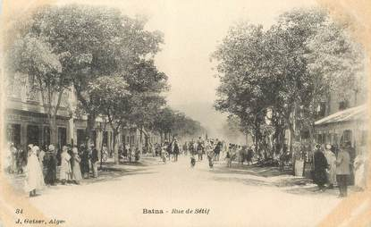 """CPA ALGERIE """"Batna, rue de Sétif"""