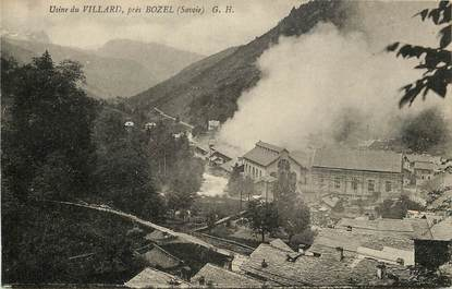 "CPA FRANCE 73  ""Bozel, Usine du Villard"""