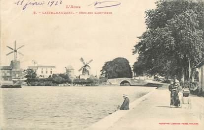 "CPA FRANCE 11 "" Castelnaudary, Moulin St Roch""."