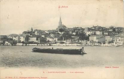 """CPA FRANCE 11 """" Castelnaudary, Vue générale"""";"""