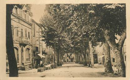 """CPA FRANCE 11 """" Chalabre, Cours Docteur Joseph Raynaud""""."""