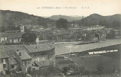 "CPA FRANCE 11 "" Espéraza, Vue générale""."