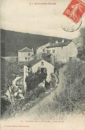 """CPA FRANCE 11 """"La Galaube, Le hameau""""."""