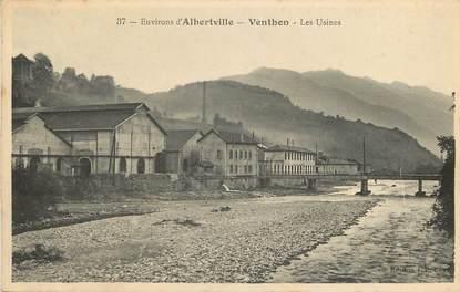 """CPA FRANCE 73  """"Env. d'Albertville, Venthon, Les Usines"""""""