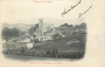 """CPA FRANCE 11 """" Limoux, Ermitage St Hilaire""""."""