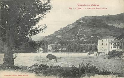 """CPA FRANCE 11 """" Limoux, L'usine électrique""""."""