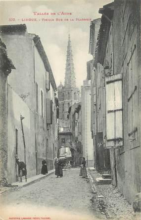 """CPA FRANCE 11 """" Limoux, Virille rue de la Bladerie""""."""