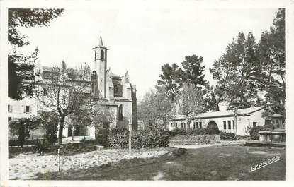 """CPSM FRANCE 11 """" Limoux, Notre Dame de Marceille""""."""