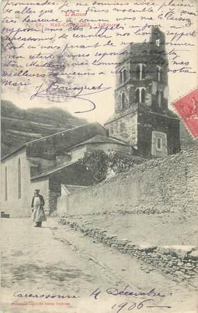 """CPA FRANCE 11 """" Mas - Cabardès, L'église""""."""