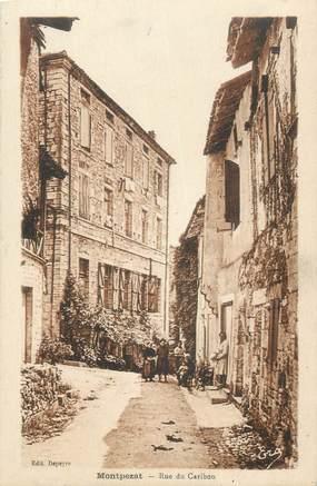 "CPA FRANCE 11 "" Montpezat, Rue du Caribou""."