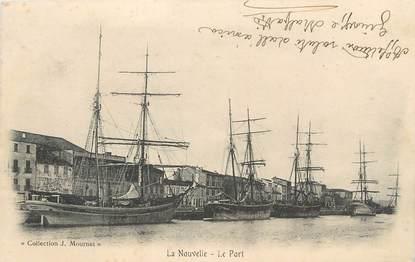 """CPA FRANCE 11 """"Port la Nouvelle, Le port"""""""
