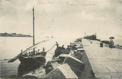 """CPA FRANCE 11 """"Port la Nouvelle, Entrée du port"""""""