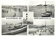 """11 Aude CPSM FRANCE 11 """"Port la Nouvelle, Vues"""""""