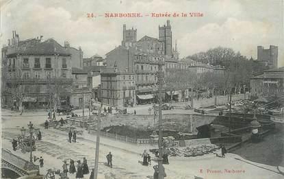 """CPA FRANCE 11 """"Narbonne, Entrée de la ville""""."""