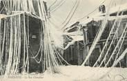 """11 Aude CPA FRANCE 11 """"Narbonne, Le Cyclone du 20 décembre 1920, La rue Chênebier"""""""