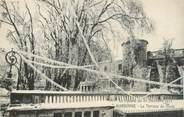 """11 Aude CPA FRANCE 11 """"Narbonne, Le Cyclone du 20 décembre 1920, La terrasse du musée"""""""