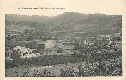 """CPA FRANCE 11 """" Rouffiac des Corbières, Vue générale""""."""