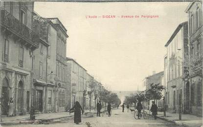 """CPA FRANCE 11 """"Sigean, Avenue de Perpignan"""""""