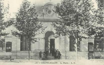 """CPA FRANCE 17 """" Châtelaillon, La Mairie'."""