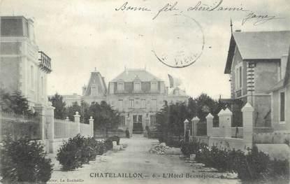 """CPA FRANCE 17 """" Châtelaillon, L'Hôtel Beauséjour'."""