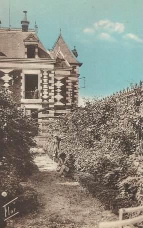 """CPA FRANCE 17 """" Châtelaillon Plage, Colonie de Vacances de la Sapinière, La roseraie""""."""