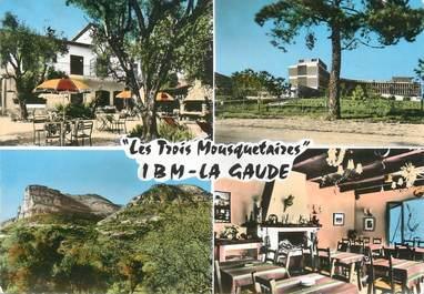 """CPSM FRANCE 06 """" La Gaude, Les Trois Mousquetaires""""."""
