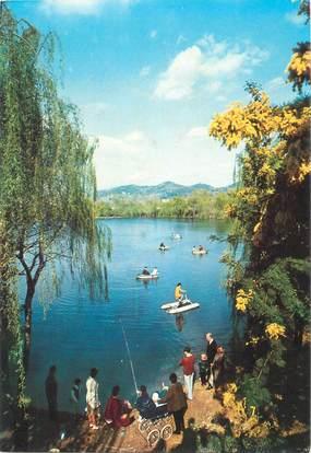 """CPSM FRANCE 06 """" Pégomas, Le Lac des Mimosas""""."""