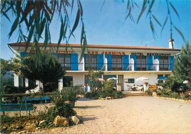 """CPSM FRANCE 06 """" Pégomas, Hôtel Restaurant Les Jasmins""""."""