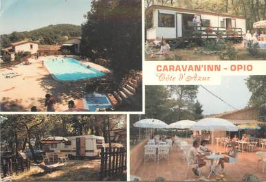 "CPSM FRANCE 06 "" Opio, Camping Caravan'inn""."