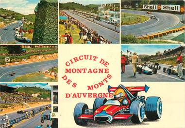 """CPSM FRANCE 63 """"Charade"""" / COURSE AUTOMOBILE"""