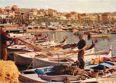 """CPSM FRANCE 06 """"Cannes, Le port des pêcheurs""""."""