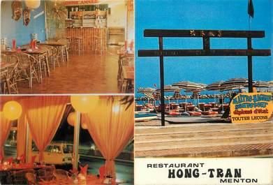 "CPSM FRANCE 06 "" Menton, Restaurant Hong Tran"" ."