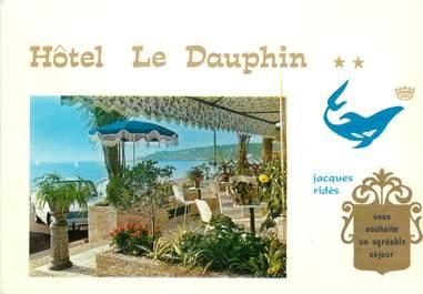 """CPSM FRANCE 06 """" Menton, Hôtel Le Dauphin"""" ."""
