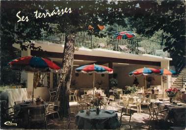 """CPSM FRANCE 06 """"Throrenc, Hôtel Restaurannt La Terrasse""""."""