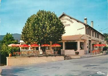 "CPSM FRANCE 06 ""Throrenc, Hôtel Restaurant des Voyageurs""."