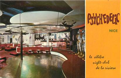 """CPSM FRANCE 06 """" Nice, Night Club Psychedelic"""""""