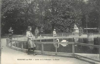 "CPA FRANCE 17 ""Rochefort sur Mer, Le bassin""."