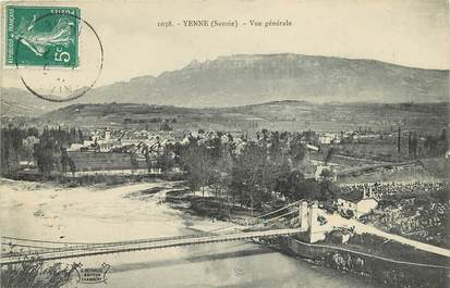 "CPA FRANCE 73  ""Yenne, vue générale"""