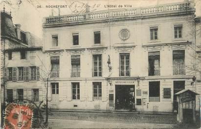 """CPA FRANCE 17 """"Rochefort sur Mer, L'Hôtel de Ville""""."""