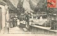 """Algerie CPA ALGERIE """"Blida, Gorges de la Chiffa, Hotel du Ruisseau des Singes"""""""