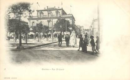 """CPA ALGERIE """"Guelma, rue Saint Louis"""""""
