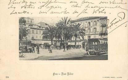 "CPA ALGERIE ""Oran, Place Kléber"""